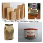 IMPRESSIVE HOMEMADE KHAKI PAPER BAGS